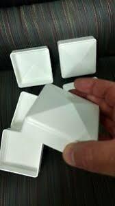 3x3 Pvc Fence Post Flat Pyramid Horse Caps Tops Vinyl White 3 X 3 6pc Usa Made Ebay