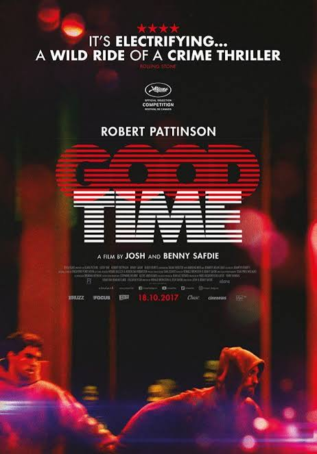 Image result for good time movie poster""