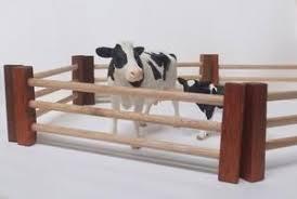Handmade Wooden Farm Fences Set Of 6 Www Kidcrew Com Au Wooden Decor Wooden Toys Farm Fence