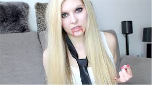 avril lavigne makeup tutorial here s to