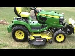 john deere x738 lawn and garden tractor