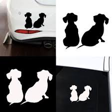 Cute 2 Colors Animal Car Decals Puppy Dachshund Dog Vinyl Motorcycle Car Sticker Weiner Dog Sticker Buy At A Low Prices On Joom E Commerce Platform
