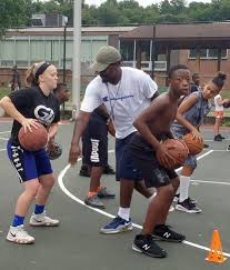 Heather Vecchioni: Local coach aims to give back to neighborhood by  offering free basketball camp - Capital Gazette