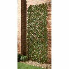 Expanding Natural Willow Trellis With Realistic Artificial Ivy Leaf 180 X 30cm Ebay