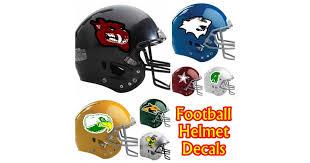 Custom Helmet Decals And Helmet Stickers