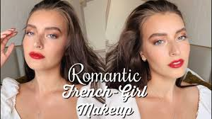 romantic french makeup tutorial