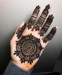 Front Hand Tikki Mehndi Design 2019