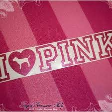 Victoria S Secret I Love Pink 3 X 14 5 From Jaykastreasuresho