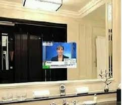 mirror glass for tv magic