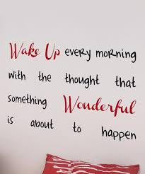 Wallpops Wake Up Every Morning Wall Decal Set Best Price And Reviews Zulily