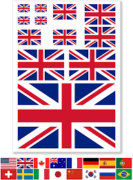 Amazon Com Jbcd United Kingdom Flags Vinyl Decal Britain Uk Flag Stickers Car Truck Window Decal Pride Decorations Bumper Union Jack Sticker Uv Resistant Weatherproof For Parties Sport Events Celebrations Kitchen Dining
