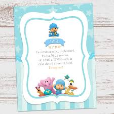 Kit Imprimible Pocoyo Cumpleanos Decoracion Candy Bar Nene 390