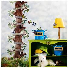 Apple Tree Ladder Trunk Kids Room Wallpaper Border Mural Bs7706b York