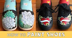 how to paint shoes empress of dirt
