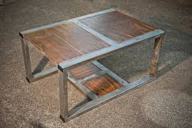 rustic contemporary coffee table