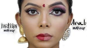 indian makeup vs arab makeup you