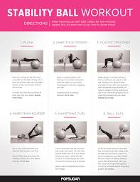 ab exercises balance ball