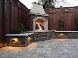brick outdoor fireplace diy fireplace