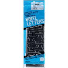 Duro Decal Permanent Adhesive Vinyl Numbers 4 Gothic Black Walmart Com Walmart Com