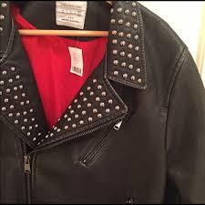 jackets coats faux leather jacket