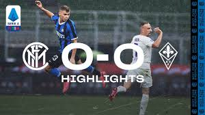 INTER 0-0 FIORENTINA | HIGHLIGHTS | Rain, big saves and missed chances ❌⚫🔵  - YouTube