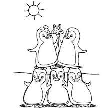 Ozie Boo Kleurplaten Kleurboek Pinguins