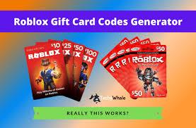 roblox gift card generator 2020 may