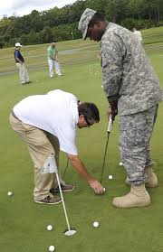 pga pros get wounded warriors back on