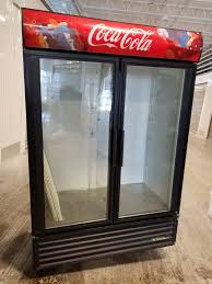 true gdm 49 coca cola 2 door glass door