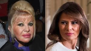 Melania Trump hits back at Ivana 'first lady' jibe - BBC News