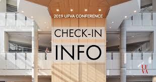 ufva 2019 check in info update