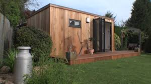 Home Office Garden Room - YouTube