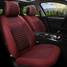 linen flax leather seat covers for ford