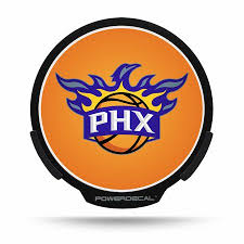 Phoenix Suns Nba Power Decal Walmart Com