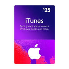 itunes gift card 25 us region email
