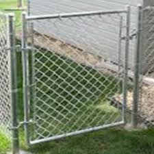 Chain Link Single Gates