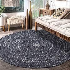 yj gwl reversible braided rug