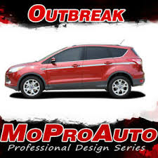 2013 2019 Ford Escape Outbreak Mid Body Line Vinyl Graphics Stripes Decal Ebay