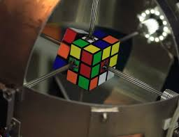 rubik s cube solved in less than a