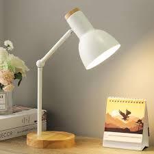 Modern Table Lamp For Bedroom Bedside Lamp Nordic Led Desk Lamp Kids Student Study Reading Lamp Office Bureaulamp E27 Us Eu Plug Led Table Lamps Aliexpress