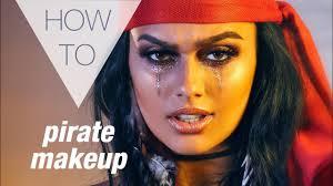 pirate halloween how to makeup