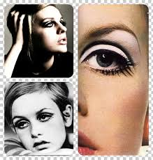 twiggy 1960s cosmetics eye shadow make