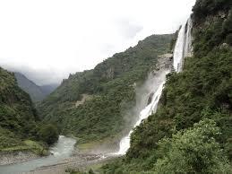 Sparkling waterfalls in Tawang