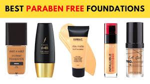 10 best paraben free foundations