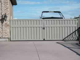 Za Quality Fencing Wood Fences Large Steel Frame Gate With Wheel