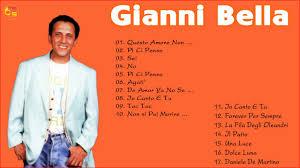 Le Migliori Canzoni Di Gianni Bella 2018 - Album Completo Di Gianni Bella -  YouTube