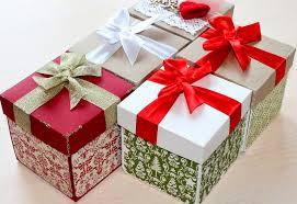 بوكس مع هدايا للعام الجديد 28 صور أفكار صناديق عيد الميلاد