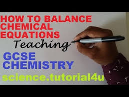 balancing chemical equations for