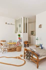 Kids Room With Natural Materials Petit Small Room Inspiration Kid Room Decor Kids Room Inspiration