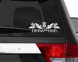 Outlander Car Decal Etsy